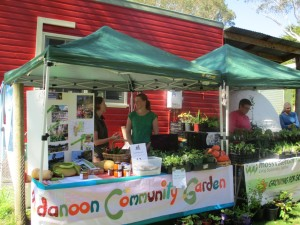 Side by side with Bundanoon Community Garden at the Penrose Harvest Fair