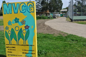 No more vehicles getting bogged going in or out of the Community Garden.