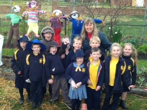 We are proud of our scarecrows